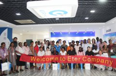 14 Countries Medical Service Study Group Visited ETR